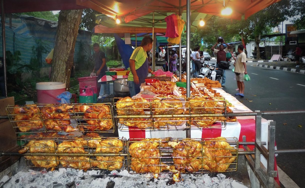 Image result for night market tanjung bungah