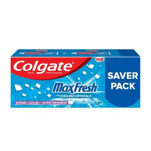 Colgate Max Fresh Anticavity Toothpaste Gel - Peppermint Ice, Saver Pack