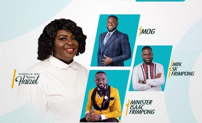 Winie Haizel to host MOG, SK Frimpong and others in a six hours non-stop prayer event