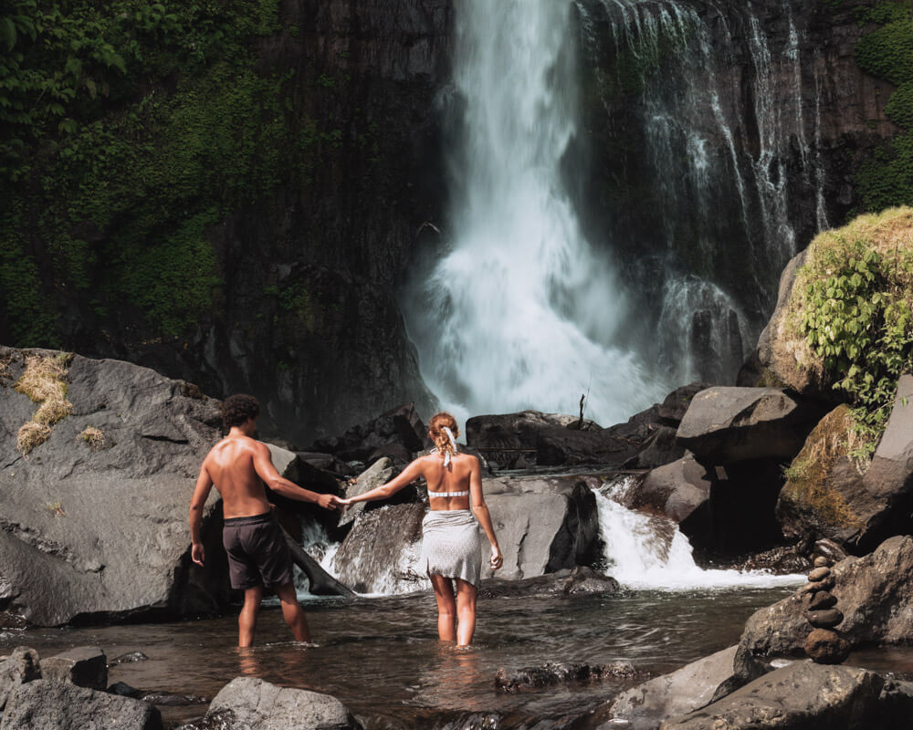 Just go travelling at Gitgit waterfall in bali