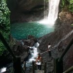 just go travelling at Aling Aling Waterfall in Bali