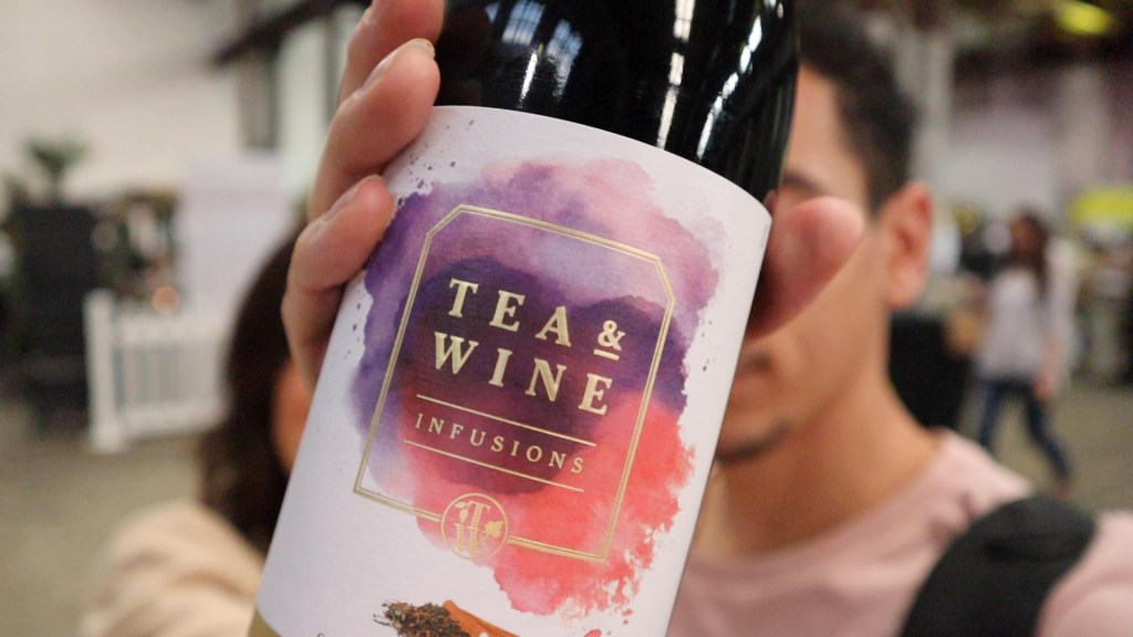 Tea & Wine Infusions bottle of wine