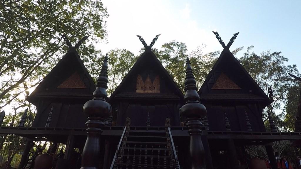 Black House Museum Baandam Artspace Chiang Rai 3 huts