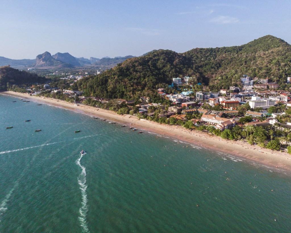 Ao Nang beach view