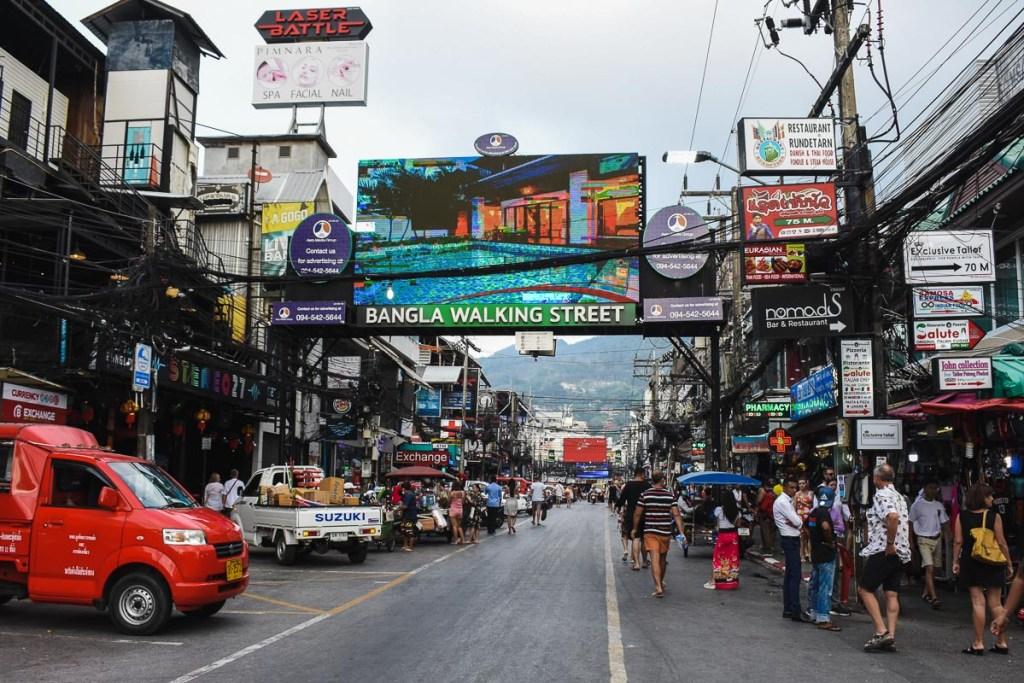 Bangla walking street in Phuket