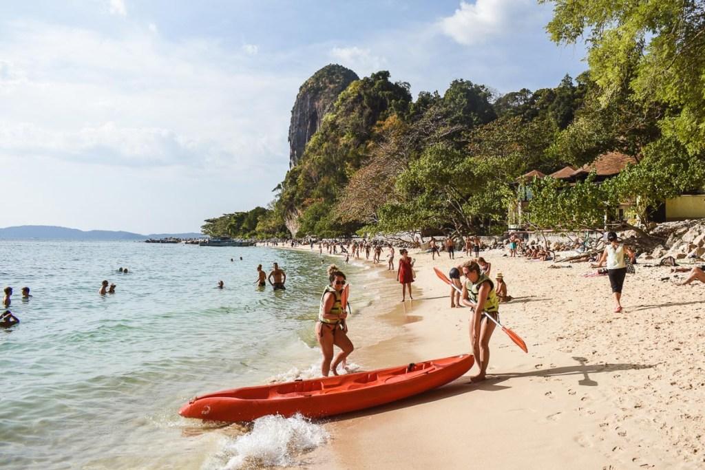 railay beach to phra nang cave