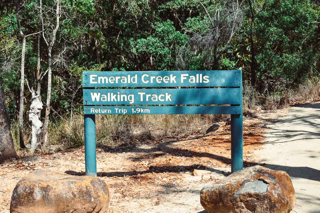 Emerald creek falls walking track directions
