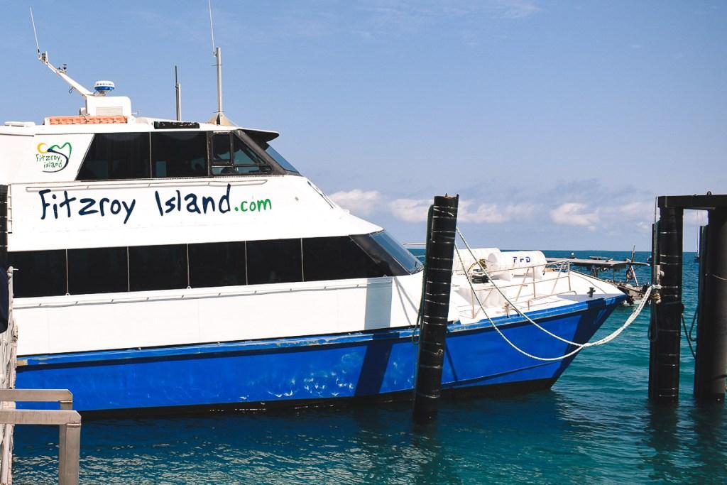 Fitzroy Island Ferry boat