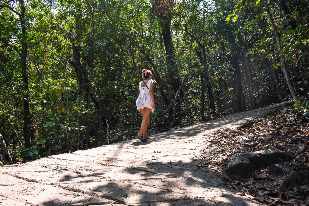 Fitzroy Island difficult walking track