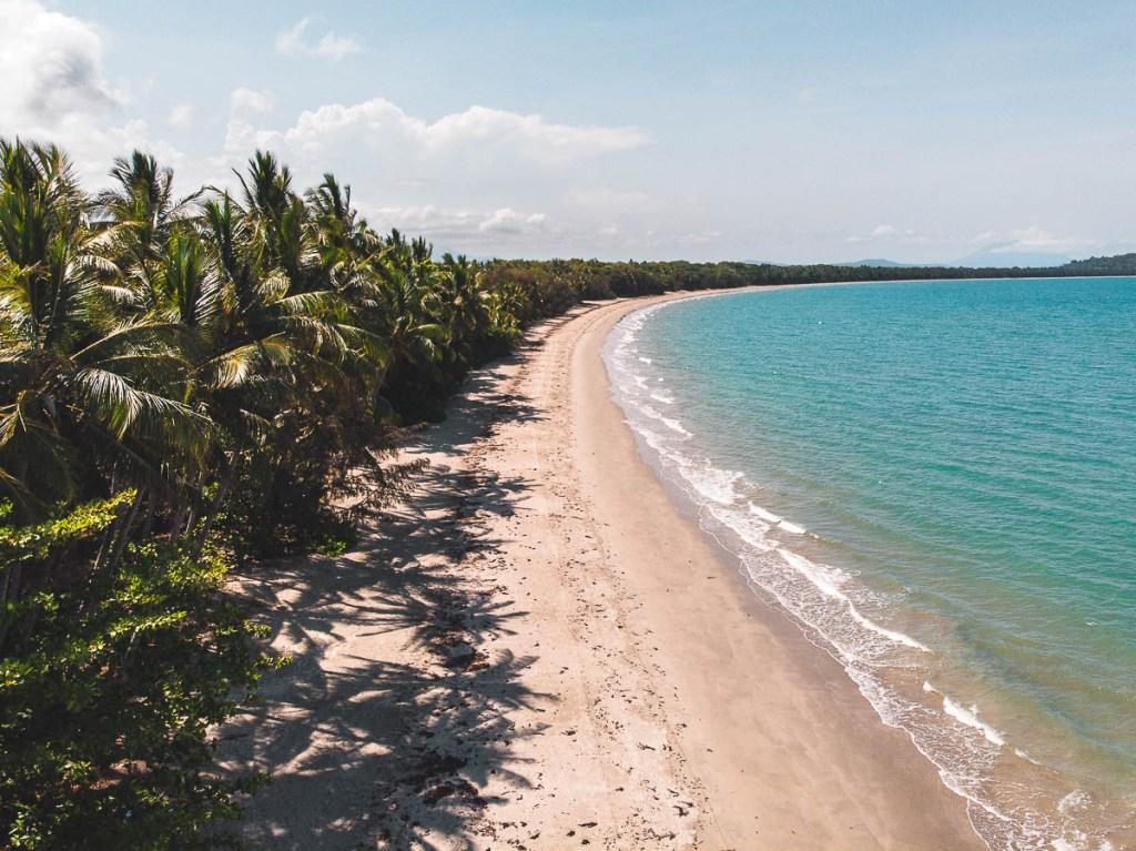 Four Mile Beach in Port Douglas