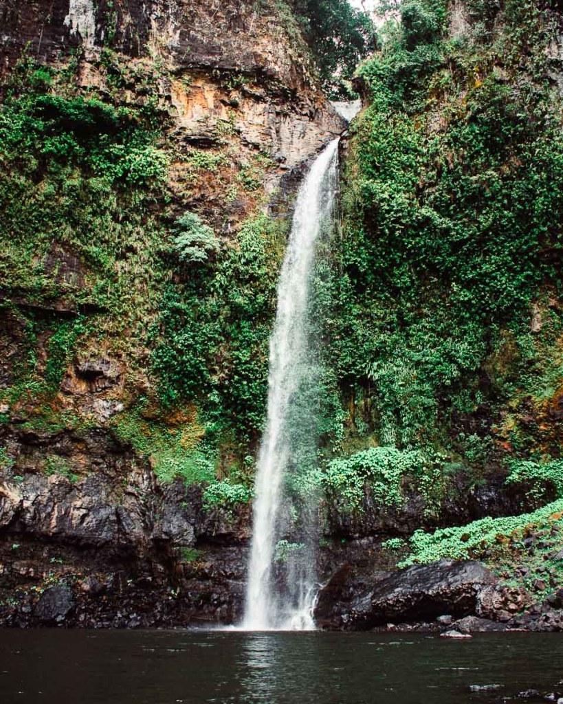 Nandroya falls powerful waterfall
