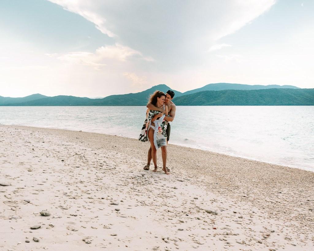 Romantic Nudey beach