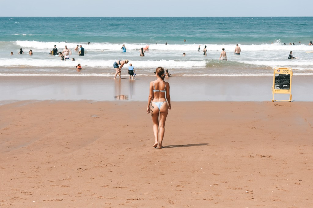 Agnes Water Beach bikini