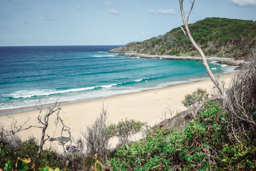 Granite bay beach view