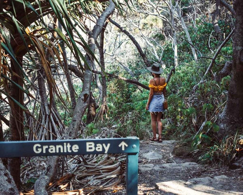 Walking to Granite Bay