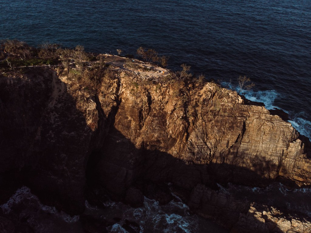 Hells gate cliff edge