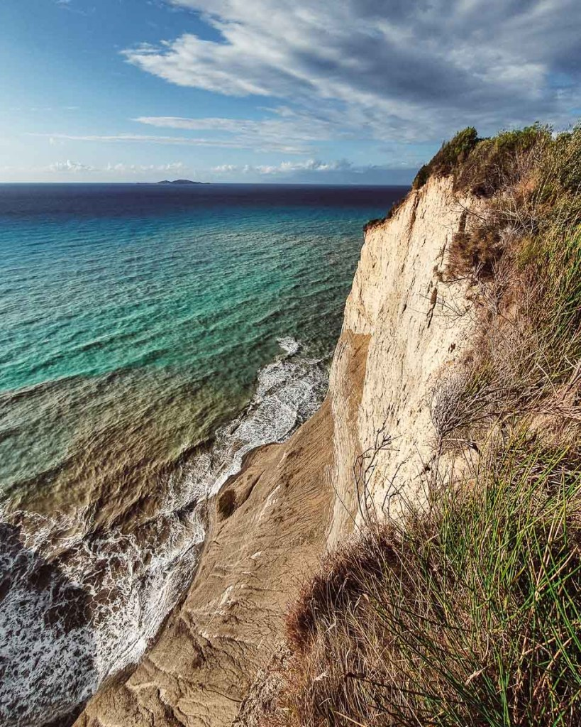 Cape Drastis Cliff edge walk