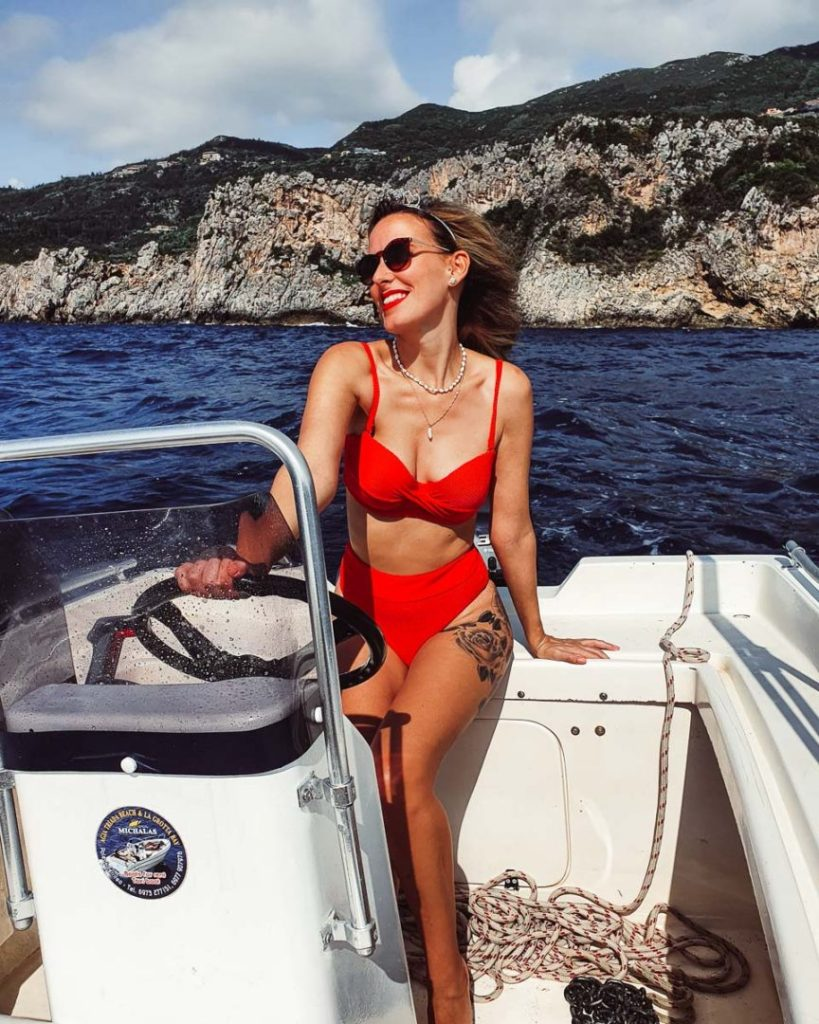 Rent a boat in Paleokastritsa Corfu