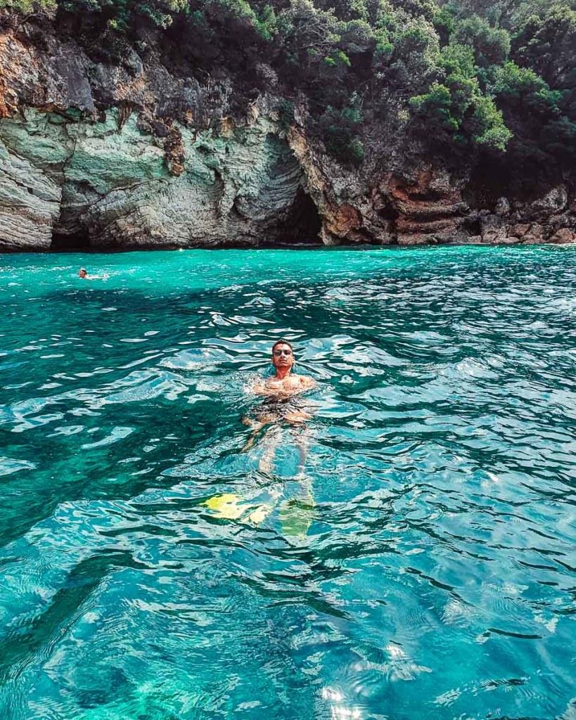 Go snorkelling around Paleokastritsa