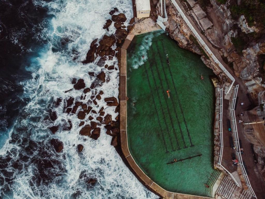 Bronte Baths Outdoor Pool in Sydney