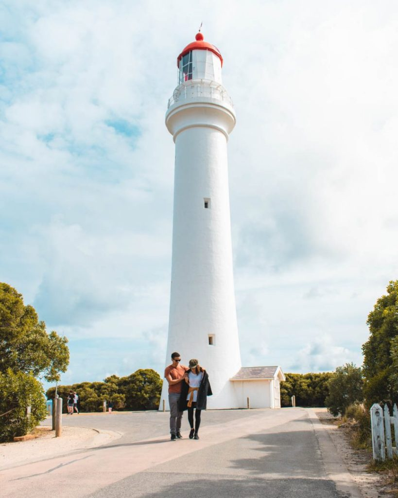Split point lighthouse - 2 day great ocean road itinerary