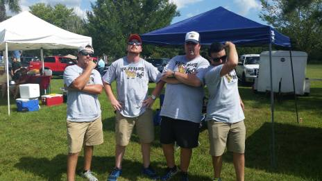 Hump Daddy's team at JG BBQ Competition