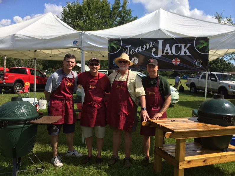 Team Jack at JG BBQ Competition