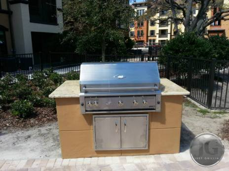BBQ grills and grilling islands