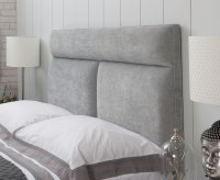 Bella Faux Leather and Suede Headboard