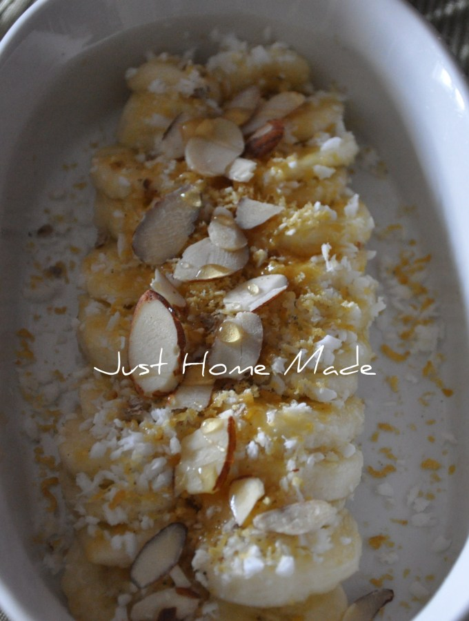 RasAyana | Banana and Coconut Sweet Salad