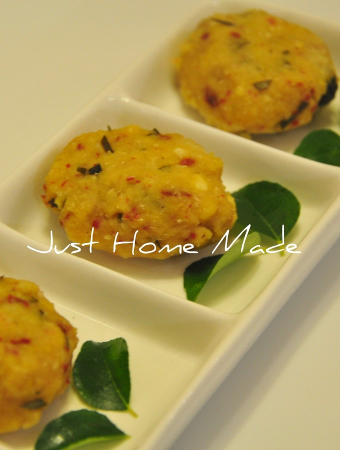 Paruppu Urundai | Steamed Lentil and Rice Savory Dumplings