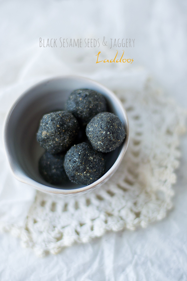 Ellu Unde | Black Sesame Seeds Laddoo