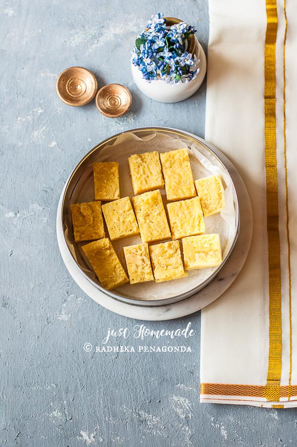 Mysore Pak sweets festive