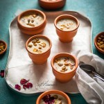 Mixed Millet kheer on tray