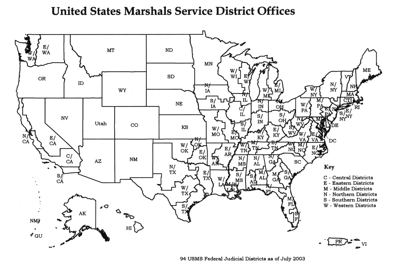 DOJ: JMD: MPS: Functions Manual: United States Marshals