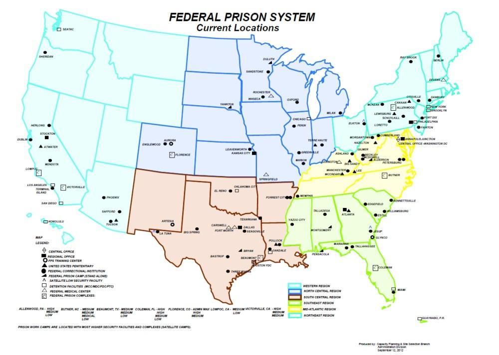 medium resolution of federal bureau of prisons field structure