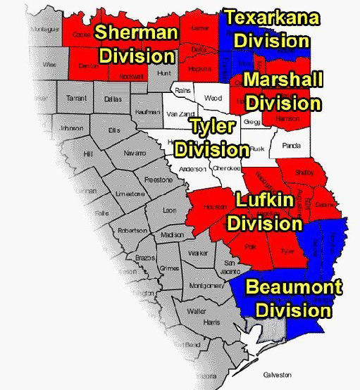 Eastern Texas District