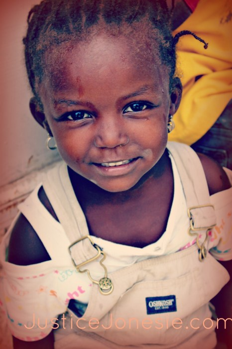 cute haitian girl