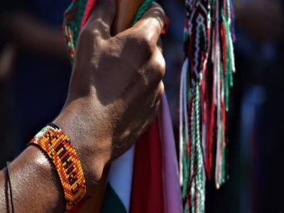 Indígena, Minga. Nasa