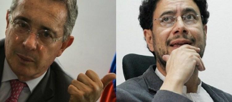 Uribe e Iván Cepeda