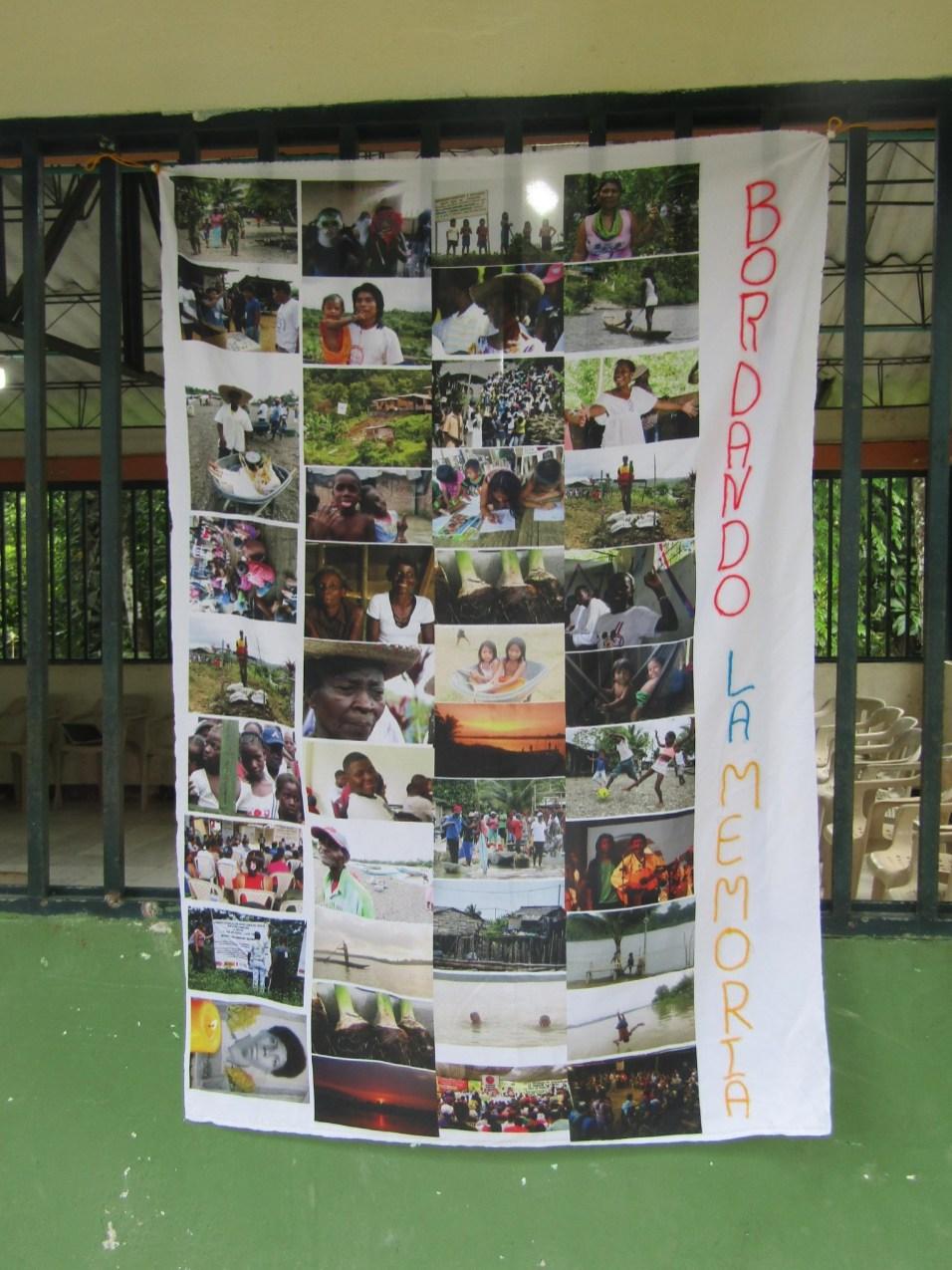 Bordado de la Memoria. Gabriel Galindo/ Comisión Intereclesial de Justicia y Paz