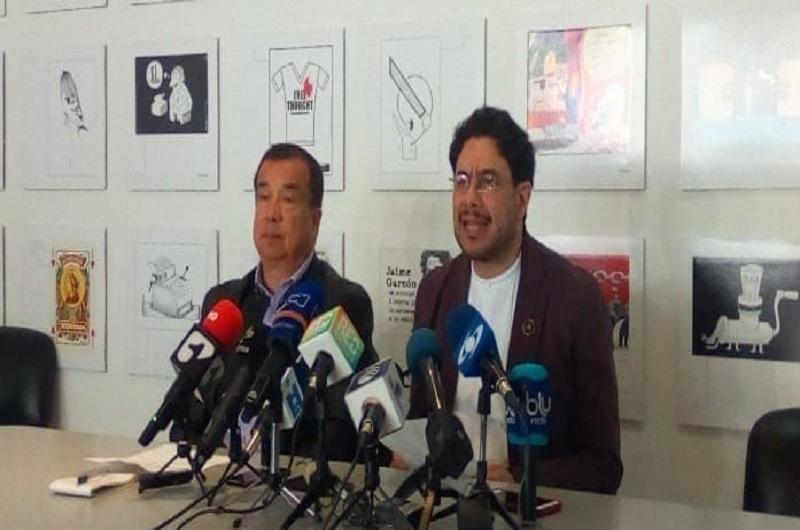 Iván Cepeda y Reynaldo Villalba