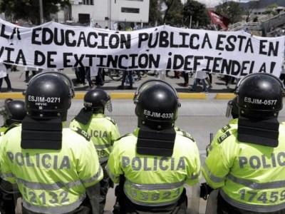 Protestas Universidad