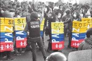 Protesta social DDHH