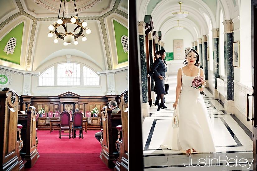 Wedding Photographer London  Islington Town Hall  Nanako and Jon