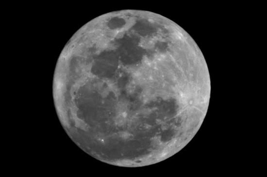 Full Moon BW