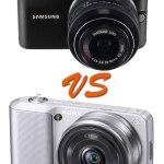 Sony NEX-3 and Samsung NX100 drop test