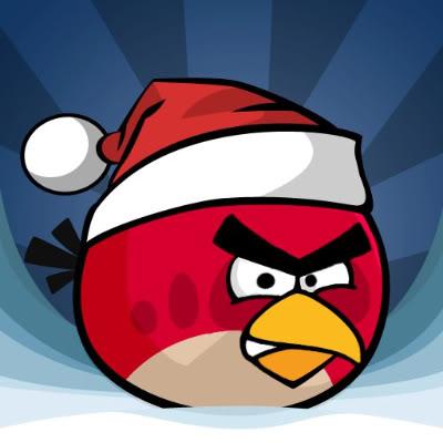 Angry Birds Christmas Logo