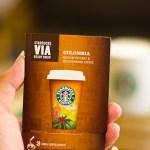 Starbucks VIA COLUMBIA Medium Instant & Microground Coffee