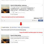 How to fix Facebook thumbnail from wordpress ?